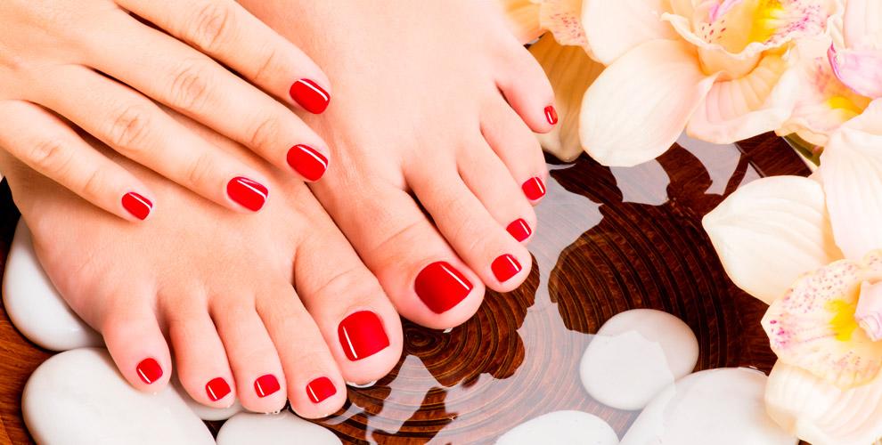 Женский имужской маникюр, педикюр, покрытие гель-лаком вкабинете Elizabeth nails