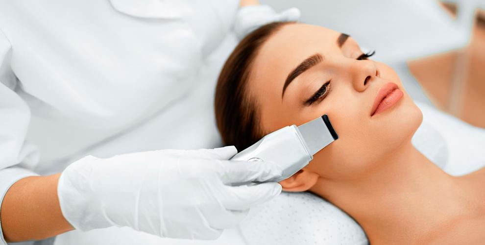 УЗ-чистка, пилинги, восковая депиляция в косметологическом кабинете «Апрель»