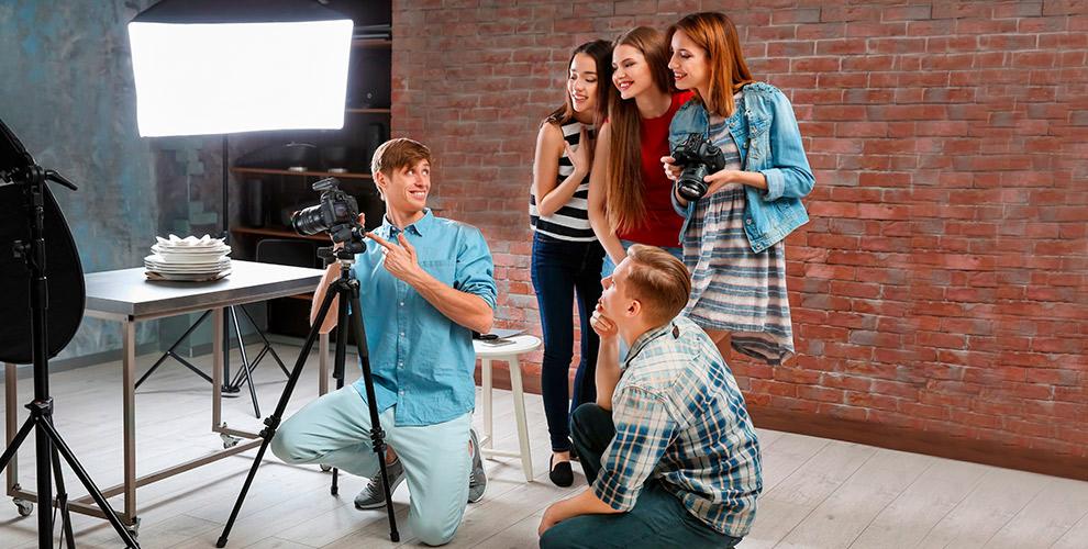 Групповой курс «Начинающий фотограф» в студии Beauty center