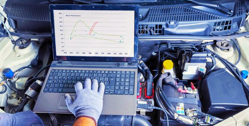 Диагностика автомобиля и ходовой части, замена масла и фильтров с промывкой в техническом центре Autodar