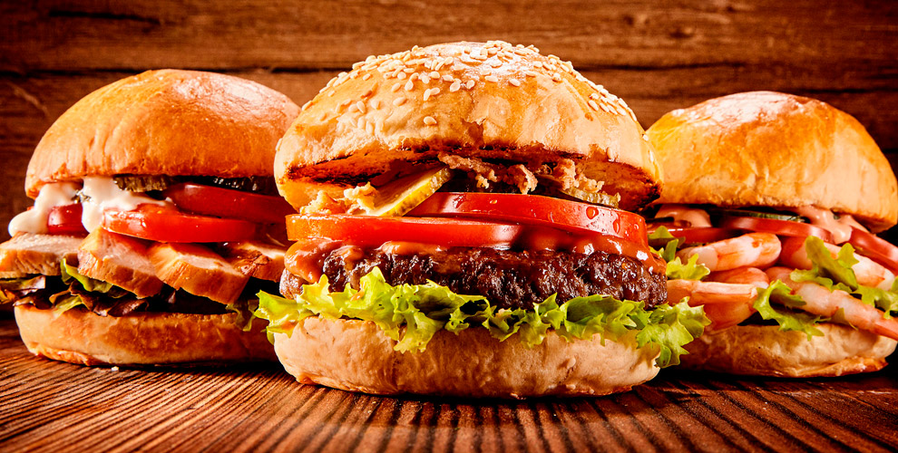 Бургерная «Бургер`s»: бургеры «Флорида», «Мексика», капучино, американо