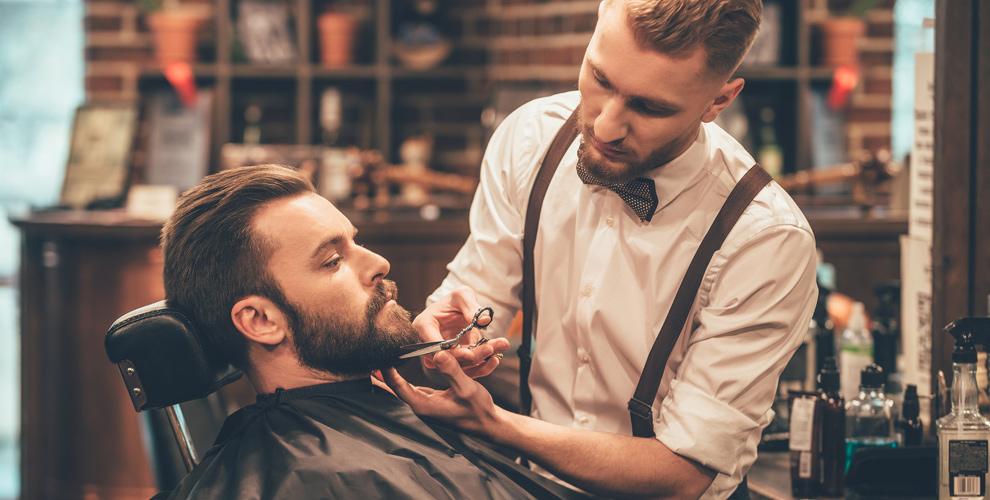 Стрижка, коррекция бороды, «Королевское бритье» в барбершопе Black PAPA
