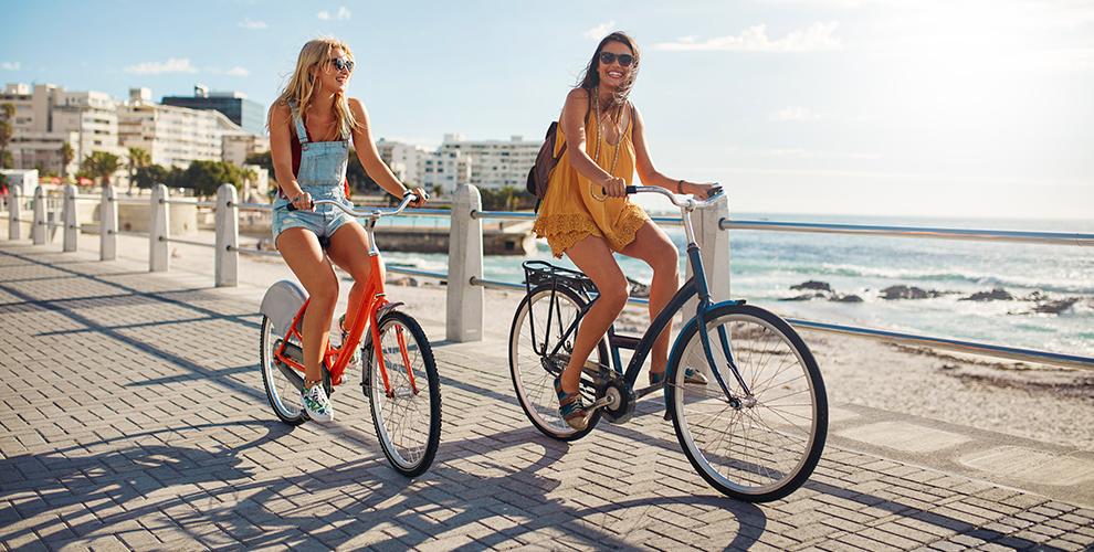 Прокат велосипеда или скутера от компании SnowExpress
