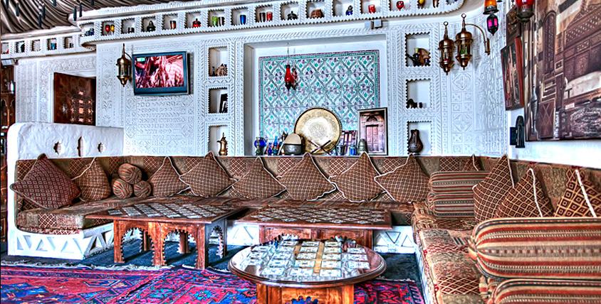 """Традиционная арабская кухня за полцены в ресторане """"Дамас"""""""