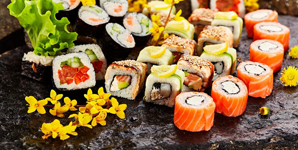 Аппетитные суши и роллы от доставки суши SUNSHINE