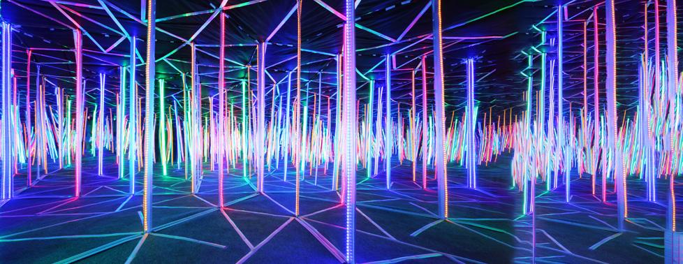 Посещение аттракционов Sky Maze за половину стоимости