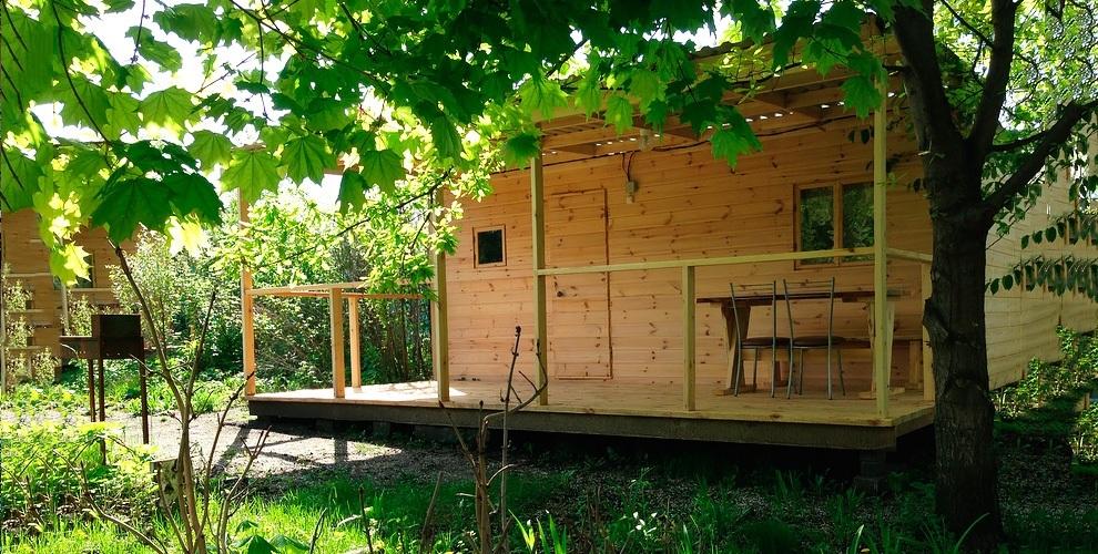 """Семейный загородный отдых в домике с мангальной зоной на базе """"Таскания"""""""