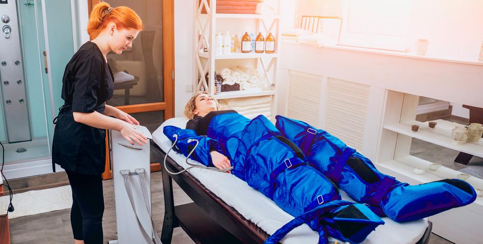 Сеансы прессотерапии в клинике «Ангиопроф»