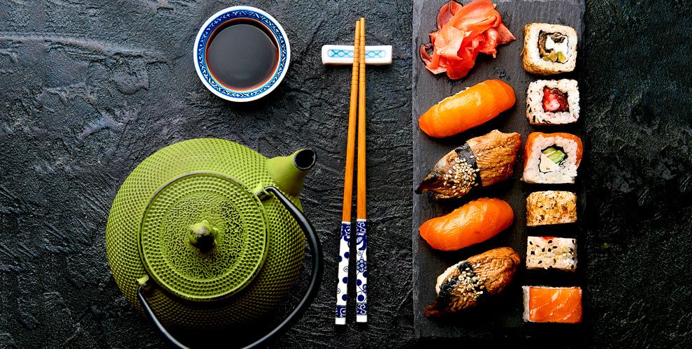 Меню японской кухни от службы доставки «Гурмэ»