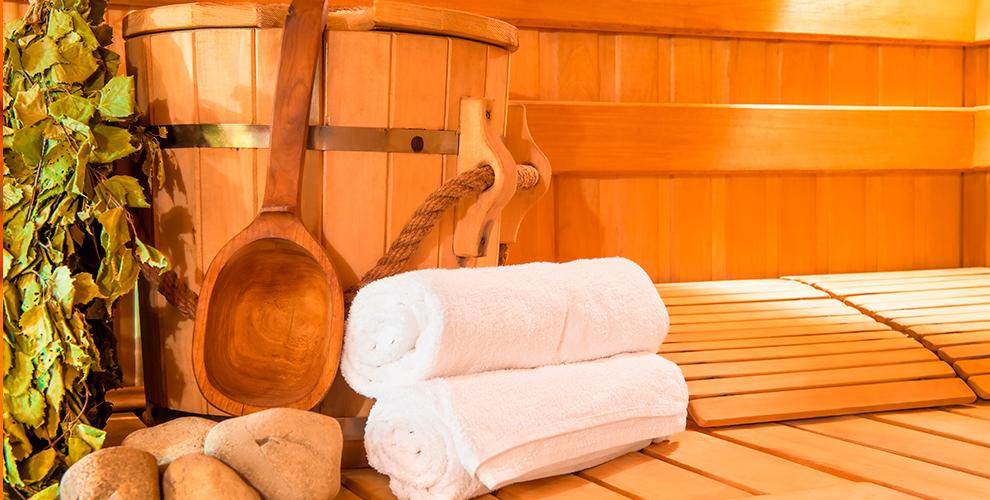 Центр «Белый парус»: посещение дровяной русской бани наводе