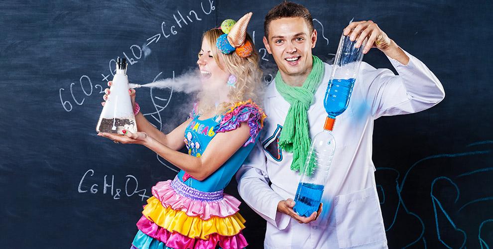 Детские программы, научное шоу и гелиевые шары от организации творчества «Моя звезда»