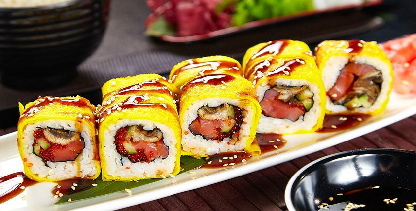"""Приятного японского аппетита! Разнообразные сеты и всеми любимые роллы от службы доставки """"Суши54.рф"""""""