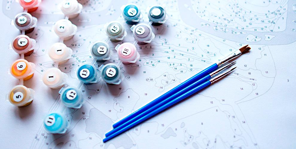 Наборы для живописи в магазине «Домовёнок»