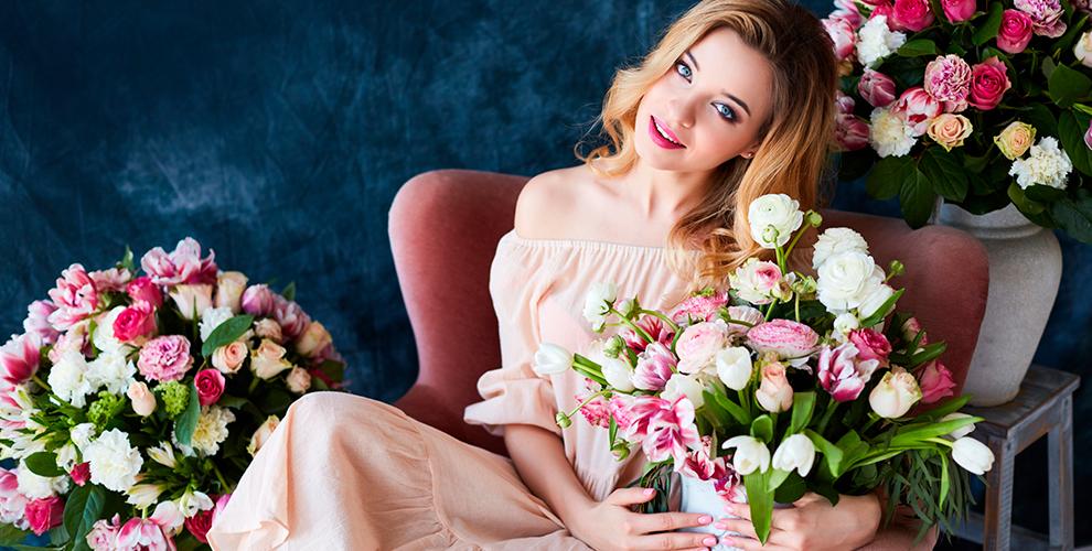 Букеты из роз, ирисов, гербер и не только от салона цветов «Дикая орхидея»
