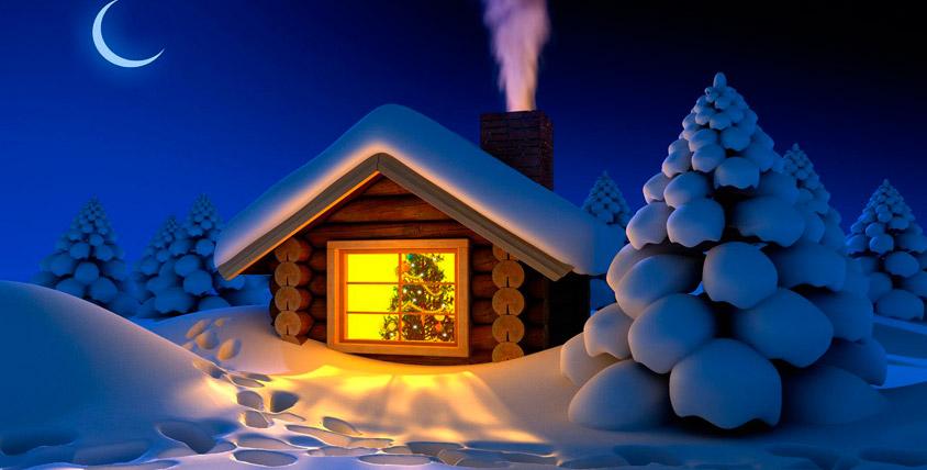 Посещение домика Деда Мороза от агентства Festum