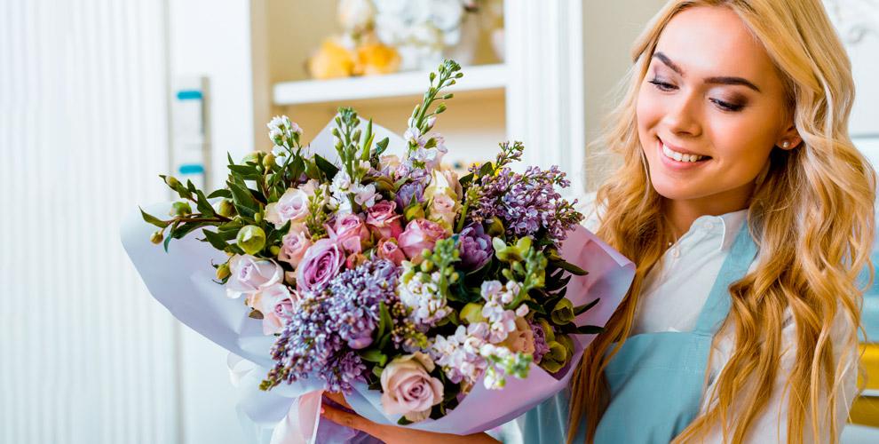 Розы, тюльпаны, лилии, орхидеи, букеты икомпозиции всалоне «Роза-Мимоза»