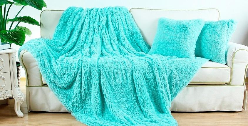 Постельное белье, полотенца и пледы из евромеха от компании «Постелька174»