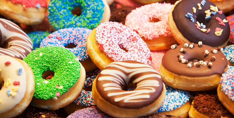 «Пышки и пончики от Блинки»: меню десертов, чай, кофе и другое
