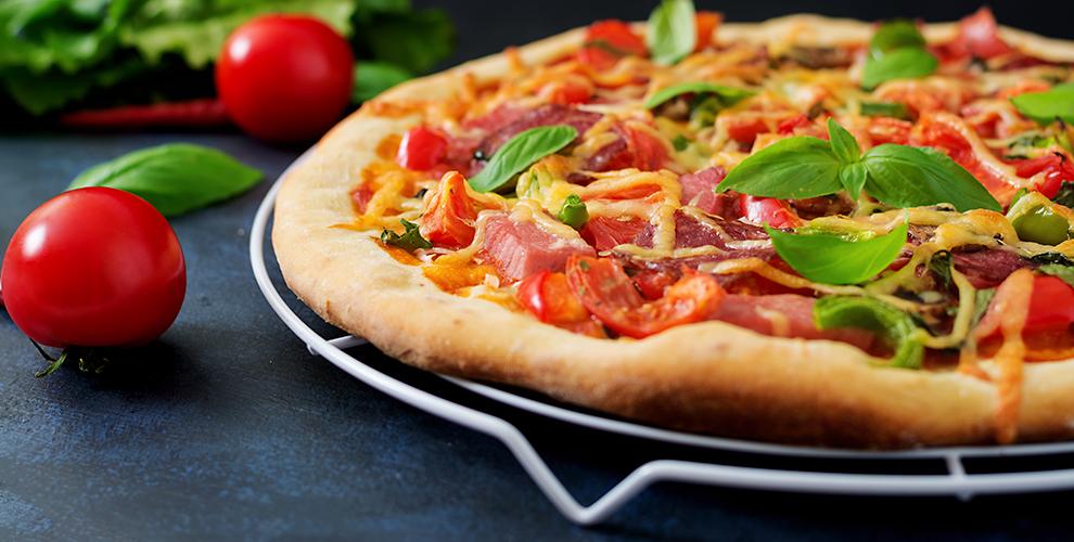 Пиццы «Ассорти», «Мясная», «4сыра», «Жульен», «Ветчина игрибы» отPizza ebirra