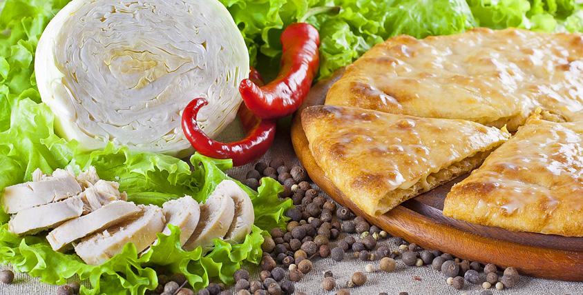 """Осетинские пироги с сыром, мясом, лососем, острые и сладкие пироги от службы доставки """"Дары Осетии"""". Уникальная рецептура!"""