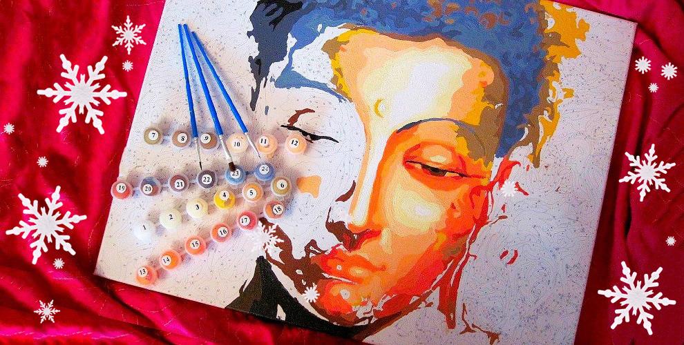 Набор для живописи от компании «Радужные картины»