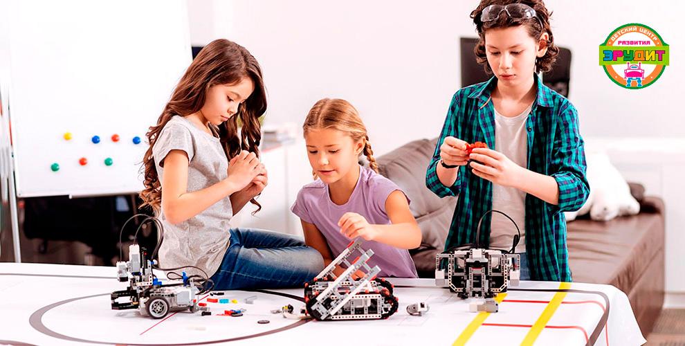 Робототехника, диагностика у логопеда, игры в шахматы в центре развития «Эрудит»