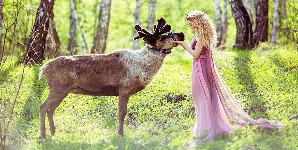 Экскурсии впитомник ездовых оленей «Северное сияние» длявзрослых идетей