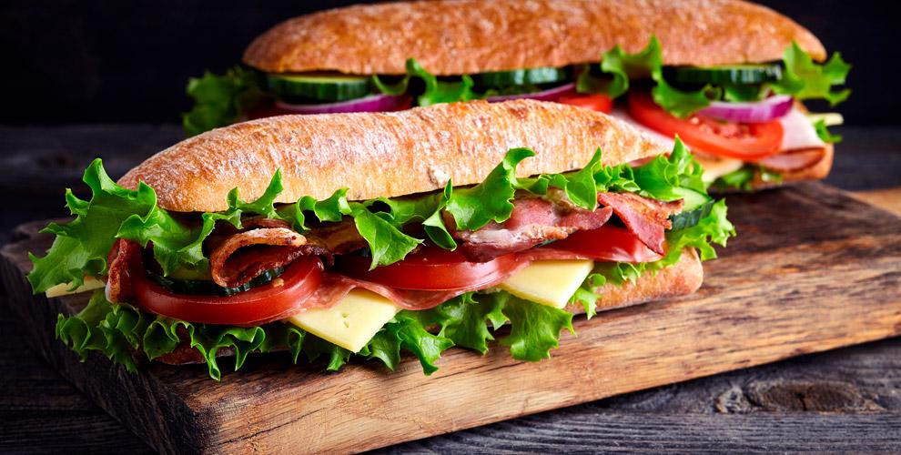 Subway: сэндвичи ибезалкогольный газированный напиток