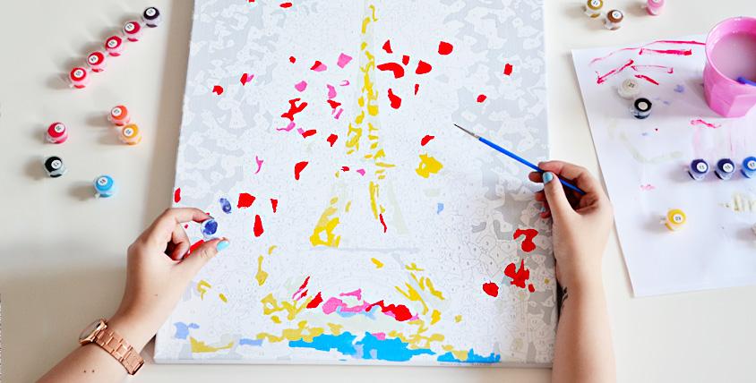 """Картины по номерам, садовые фигуры, текстиль, игрушки Spiner от магазина """"Зебра"""""""
