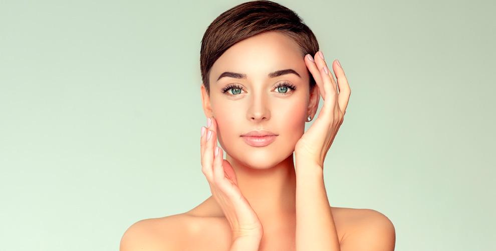 УЗ-чистка, пилинги, мезотерапия лица иокрашивание бровей встудии красоты White room