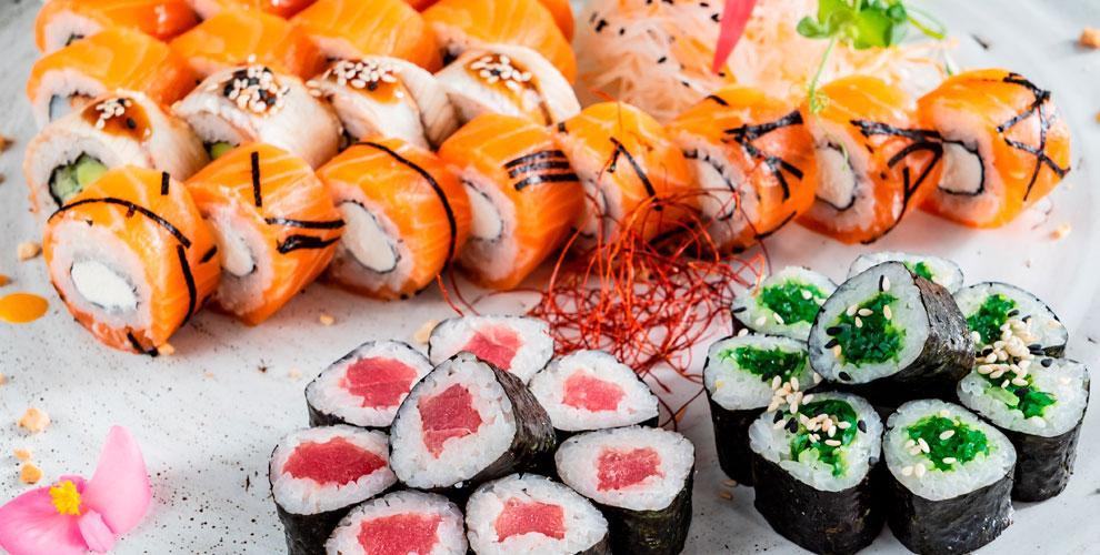 «Будли суши»: меню холодных, темпурных илизапеченных роллов исетов, рамэн, топинги