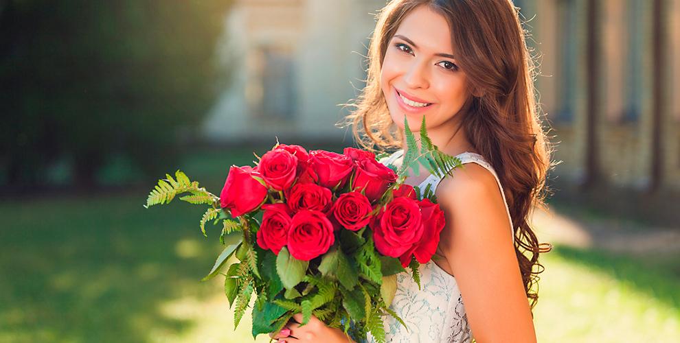 Цветочный салон PRIMAROSA: букеты из роз, герберы, альстромерии и не только