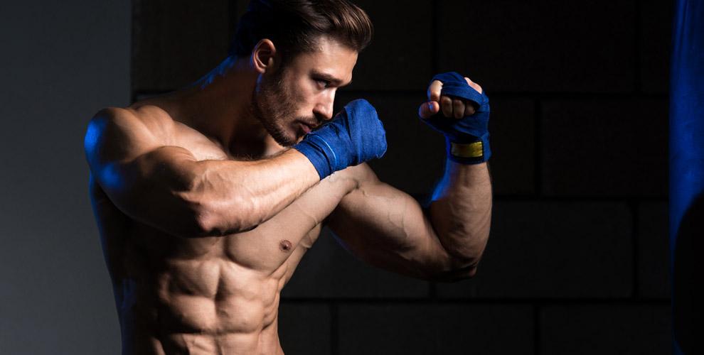 Занятия по рукопашному бою в клубе «Русский стиль»