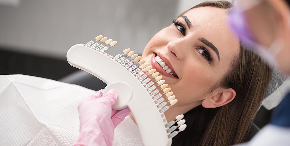 Косметическое отбеливание зубов в Magic White