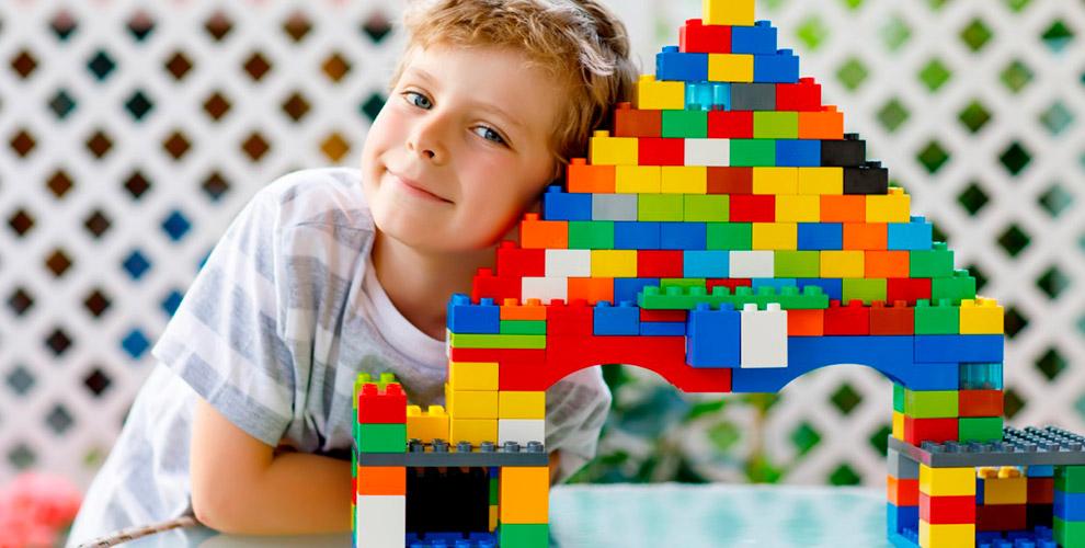 Посещение детской игровой площадки «МегоЛего»