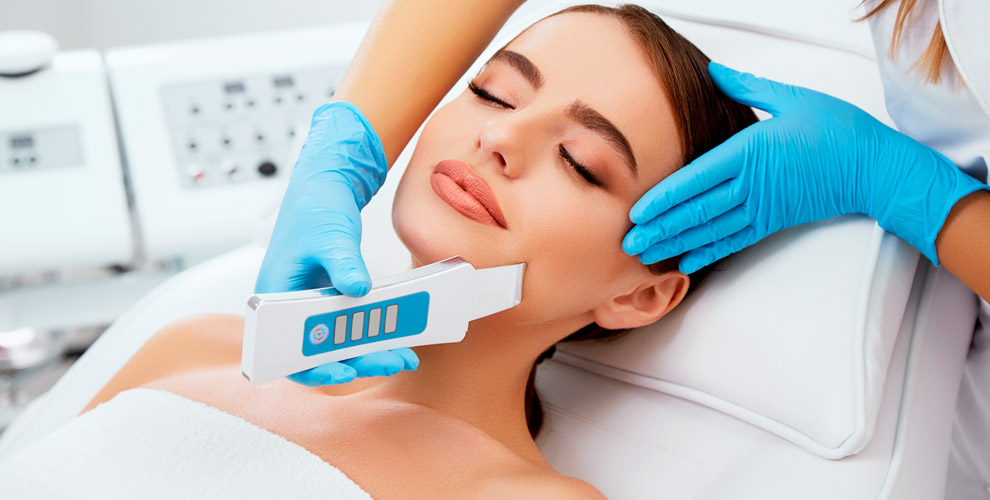 Sapphire beauty & spa:УЗ-чистка лица, RF-лифтинга тела, вакуумный массаж