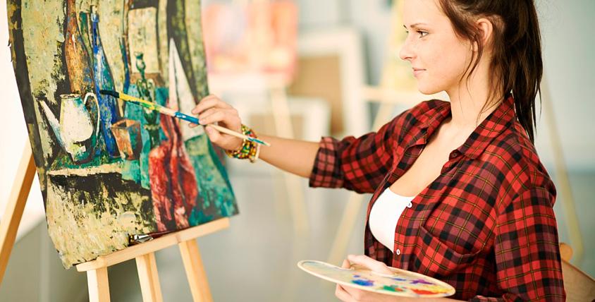 """Мастер-классы по живописи, гильошированию и другое в компании """"Империя креатива"""""""