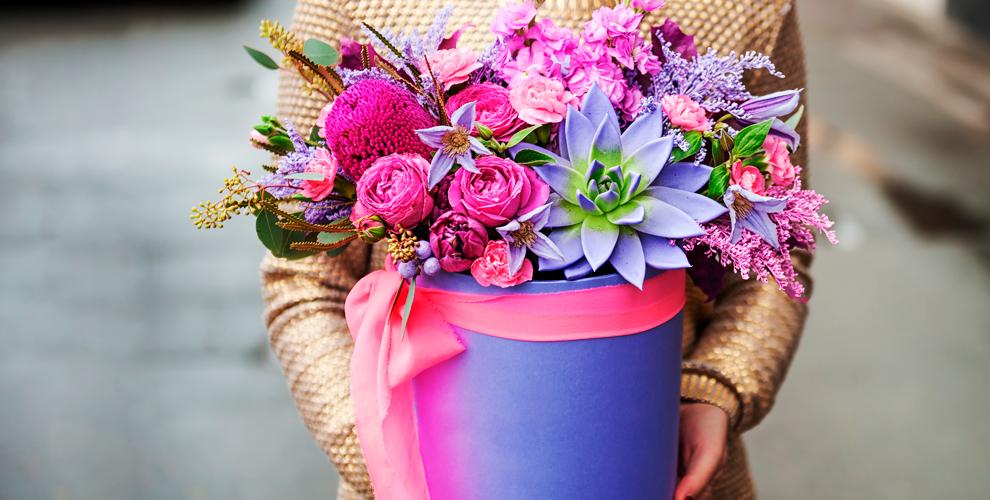 Разнообразные букеты ицветы отинтернет-магазина Saleflowers
