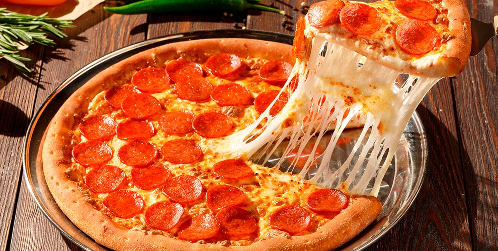 Меню ароматной пиццы от службы доставки «Гурмэ»