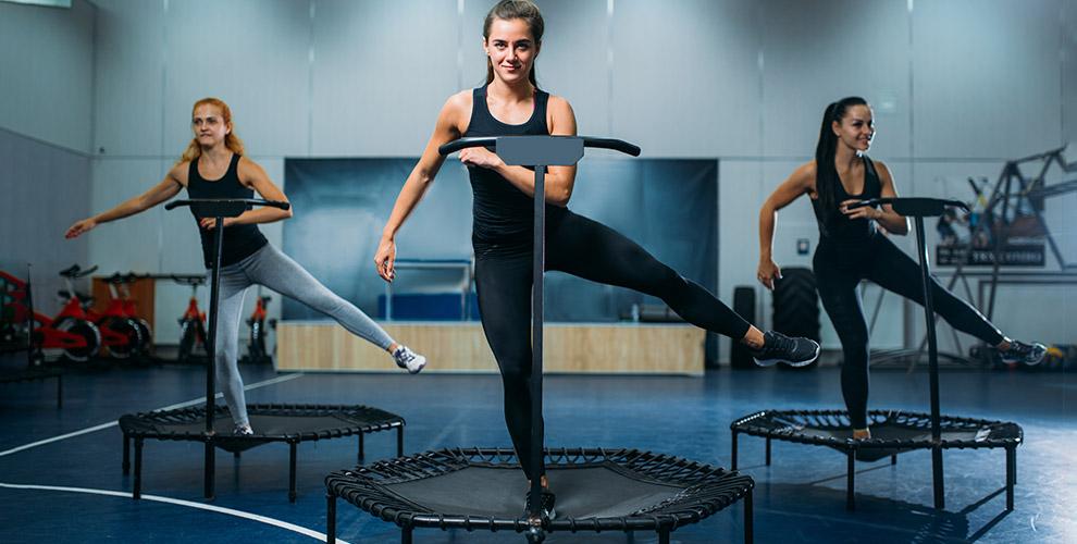 Абонемент и занятия танцевальным фитнесом на мини-батутах в фитнес-клубе Timestudy.ru