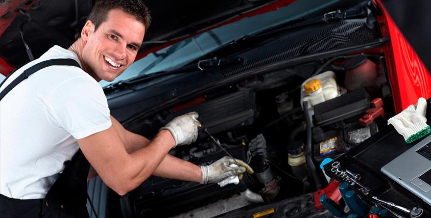 Диагностика подвески, двигателя автомобиля, развал-схождения и замена масла