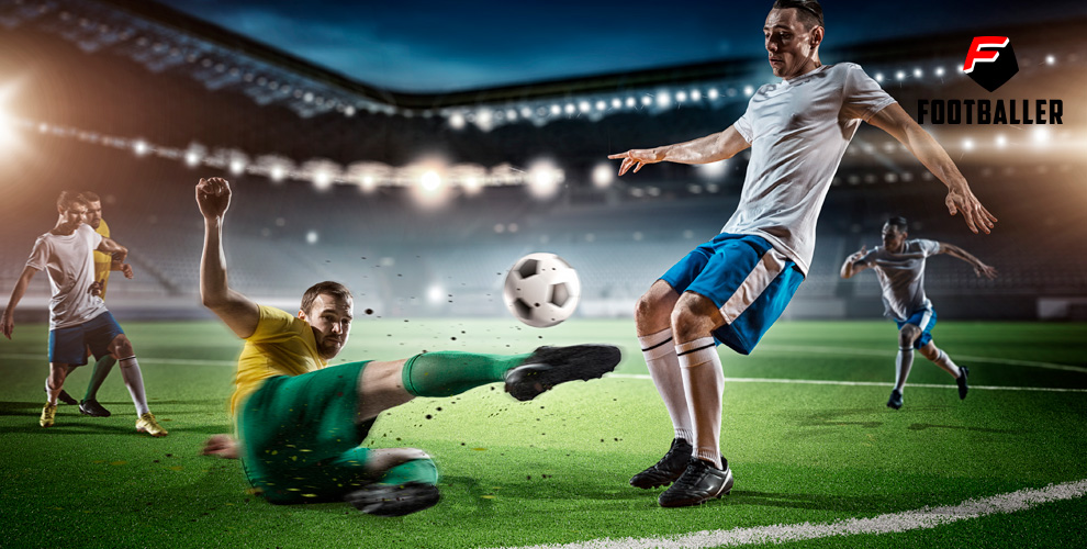 Игравфутбол накрытом иоткрытом поле отсервиса Footballer