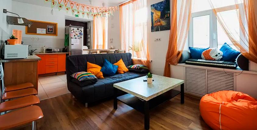 Проживание в хостеле Online Hostel от 200 руб.