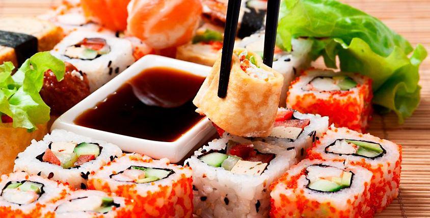 Блюда японской кухни в кафе FaCULTet за полцены