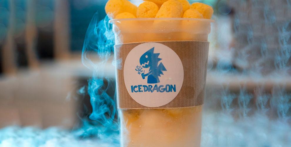 Мороженое на жидком азоте, крио-десерты и парящий лимонад от ICE DRAGON