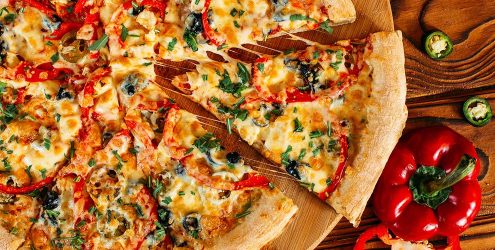 Pizza 911:пиццы«Фирменная», «Маргарита», «Гавайская», «Русская»