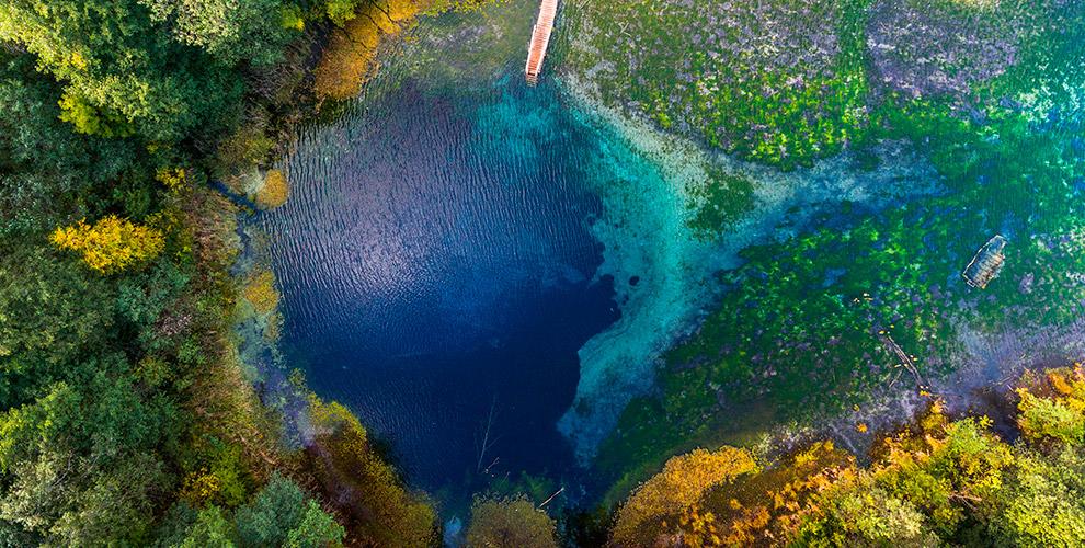 Прогулка по сосновому лесу и посещение Голубых озёр в Аскате от «Сусанин travel»