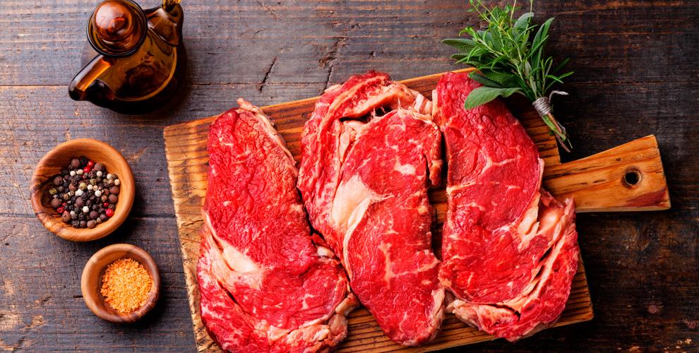 «Мясной регион»: «Рибай», «Филе миньон», премиальные отруба мраморной говядины