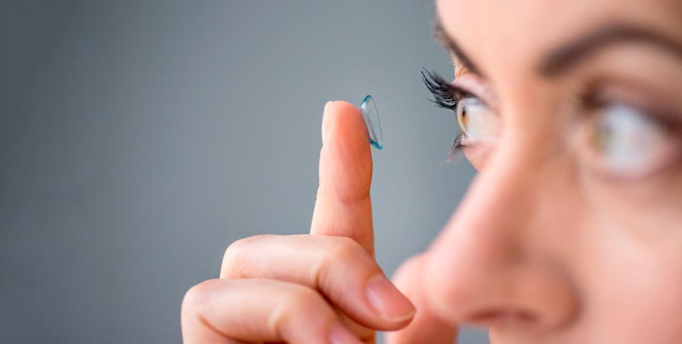 Салоны «Экспресс-Оптика»: упаковка контактных линз - 690 р.