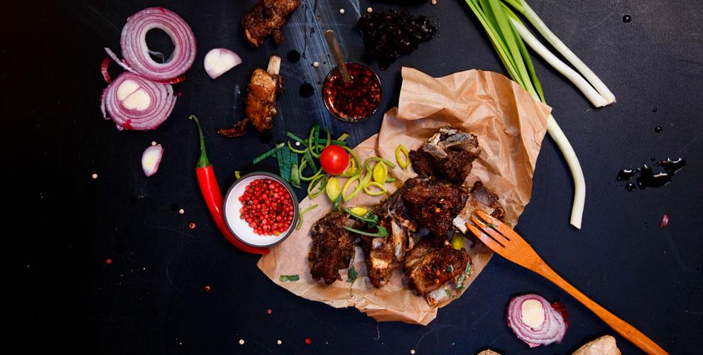 Банкетное иосновное меню казахской кухни вкафе «Салам»